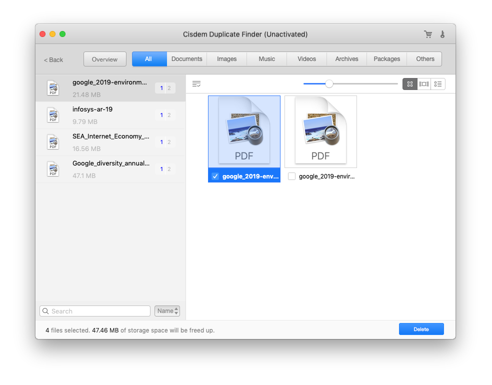 how to quickly remove duplicate files on mac