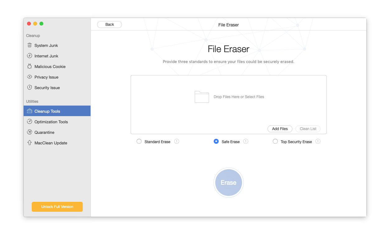 eraser for mac