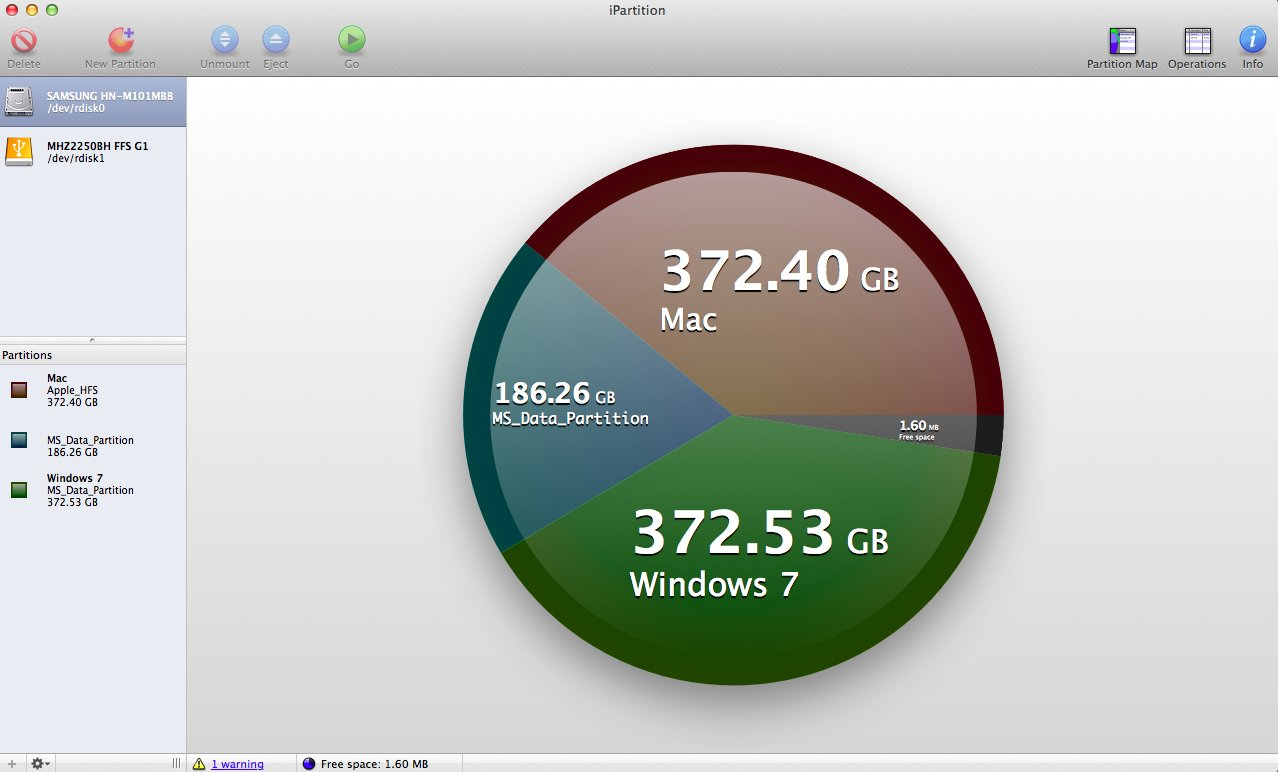 ipartition partition manager