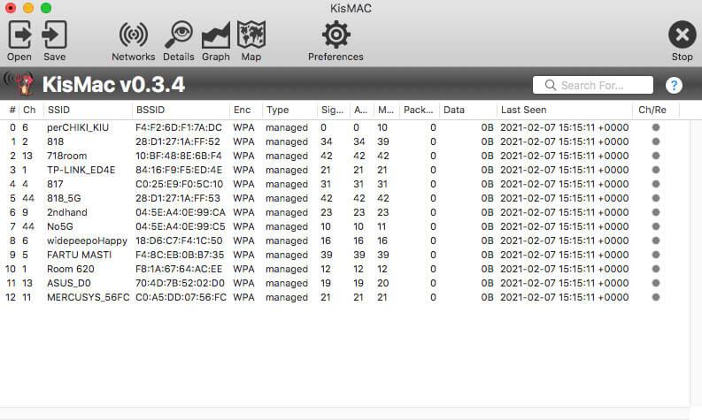 wifi analyzer for mac