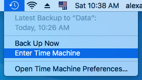 How to Retrieve Deleted Files from a Time Machine