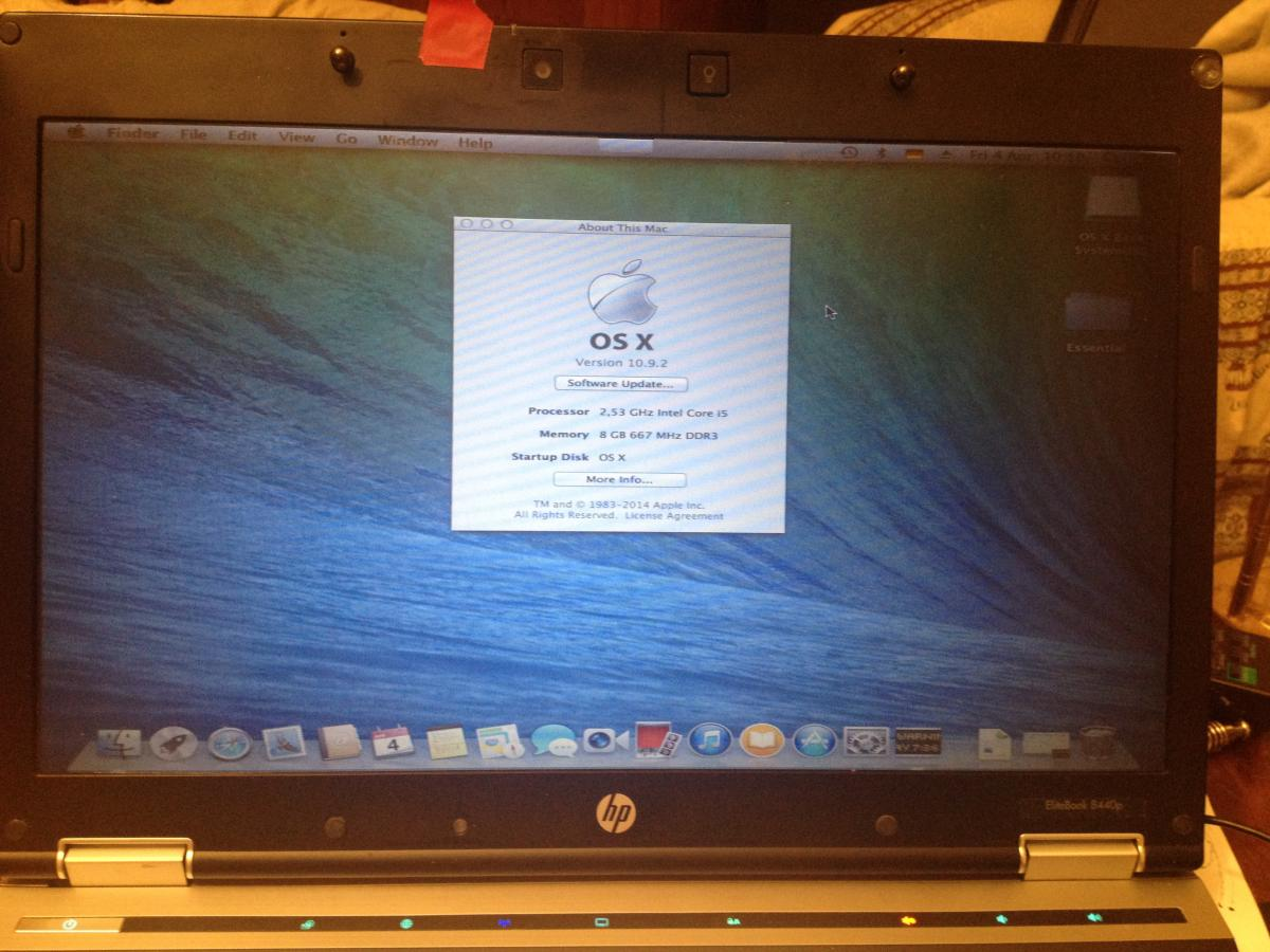 Hard Drive With Mac Os In Hp Laptop