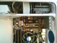 MB screwed in place with HDDs loaded and new DVD Drive fitted.jpg