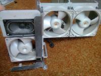 Orginal fan assemblies attached to divider.jpg